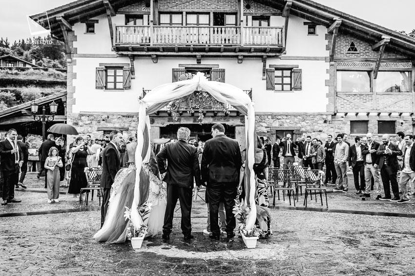 Reportaje boda Janire Iker y Kepa-Euritan dantzan