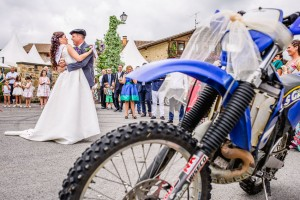 Reportaje boda Miren Mikel y una moto de monte