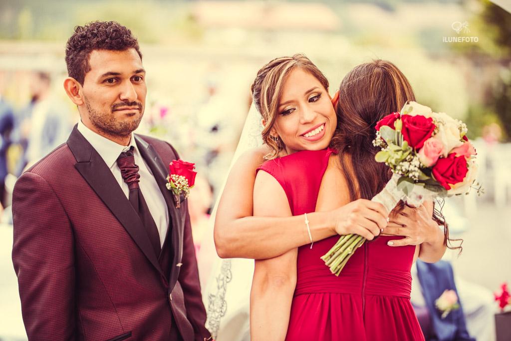 Fotografia de boda emocional